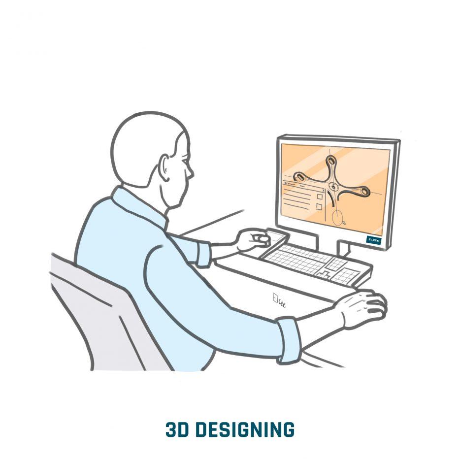 Conception 3d réalisée par nos ingénieurs
