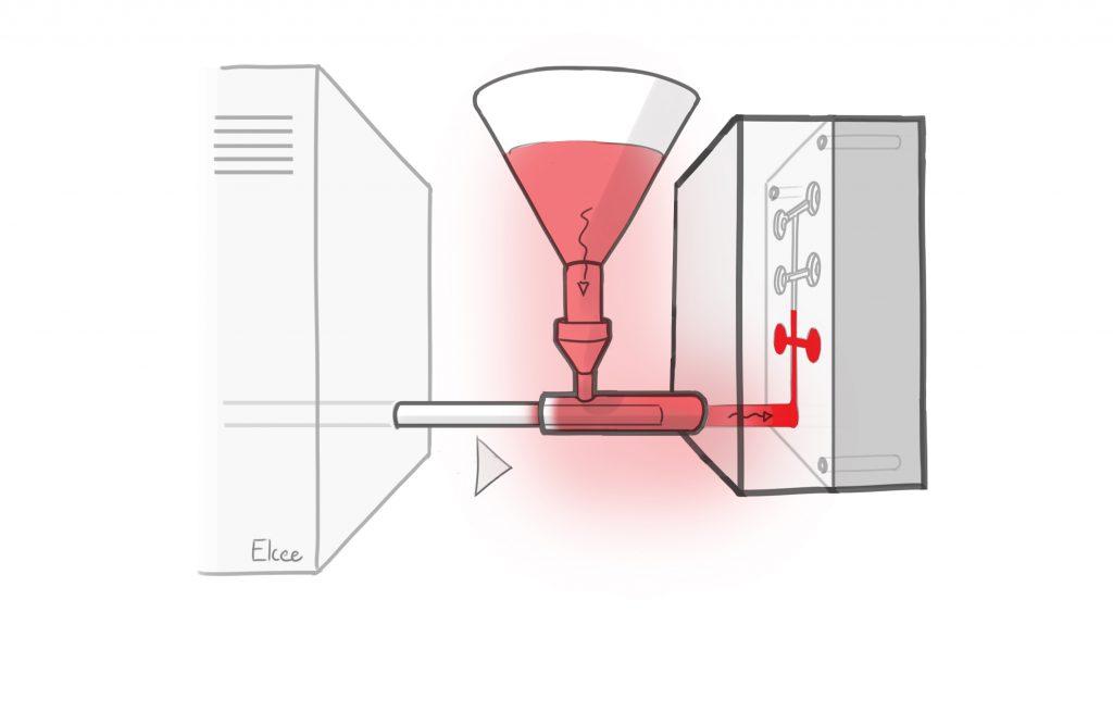 Injection d'aluminium, partie du processus de moulage sous haute pression   ELCEE