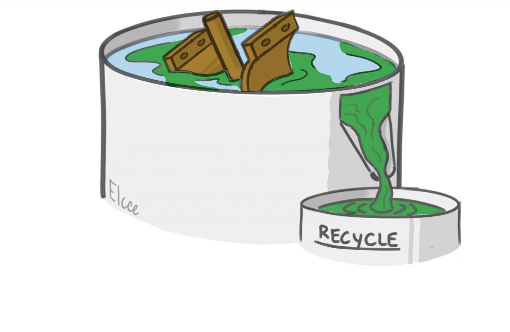 Durcissement du produit dans un bain de solution de chlorure. Fait partie du processus de moulage à la cire perdue (verre soluble).