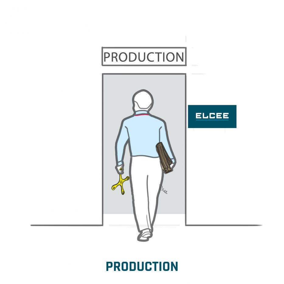 Produire le moulage en produit final | ELCEE