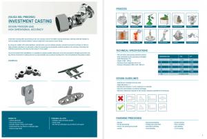 Brochure de la section ELCEE sur les composants sur mesure