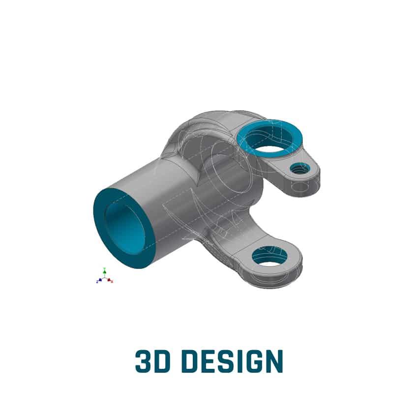 Conception 3d pour créer un composant technique