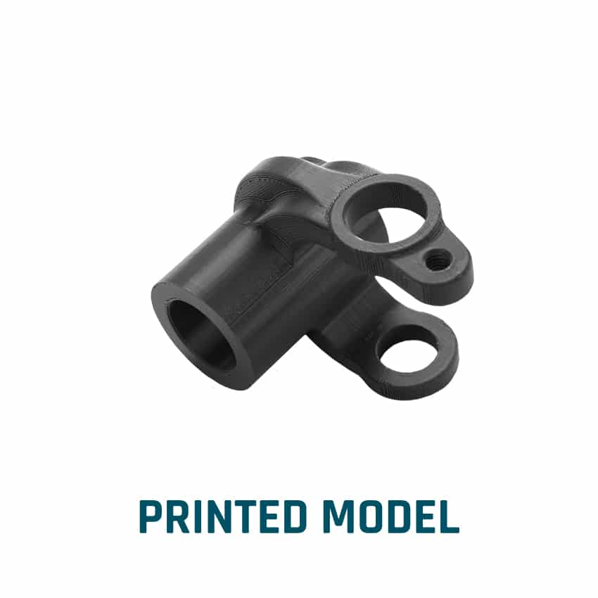 Modèle imprimé dans le processus d'ingénierie | ELCEE